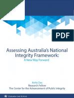 Australia's National Integrity Framework