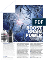 GET A BRAIN BOOST (Featuring Neurovex and GHTX by Max Muscle Nutrition)
