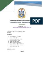 Mediciones Potenciometricas de Ph