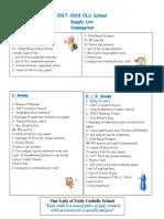 supply list english 2017 pdf