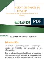 Capacitacion_uso, Manejo y Cuidado de Los Epp_i Gad Salcedo