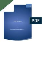 tarea 6 econometria