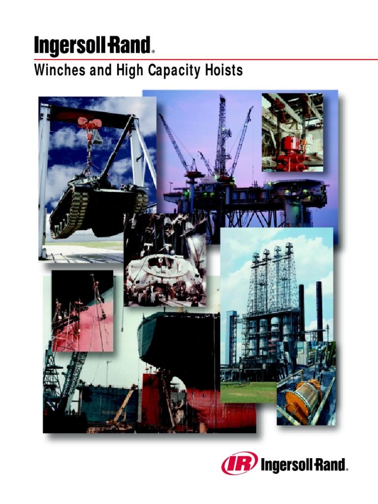 Catalogo Winches Irand Mhd55199pdf Switch Clutch Total Fitness Treadmill Elektrik Tl 8600 Motor 20hp