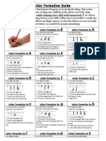 fundations letter formation guide