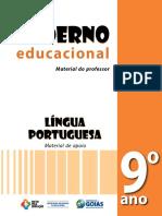 Caderno Educacional de Lc3adngua Portuguesa 9ºano