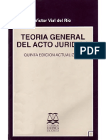 Acto Juridico Victor Vial