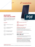 Canadian Solar Datasheet MaxPower CS6U M v5.51na