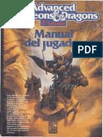AD&D 2ª Ed Manual Del Jugador OCR