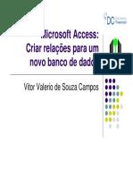 08 Criar Relacionamento No Access - 1 Folha