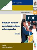 Manual Para Fortalecer La Lectoescritura 3er Ciclo