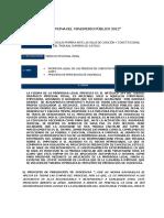 Prorroga Legal de Las Medidas de Coercion Personal (Artículo 244 Copp)