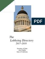 Lobbying Directory