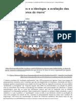 Barreira e Botelho - Entre Os Números e a Ideologia. a Avaliação Das UPPs Em 'Os Donos Do Morro'