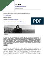 Nueva Revista - Literatura David Foster Wallace y La Posmodernidad Americana