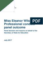 Eleanor Wilson Decision