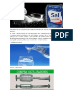 Se Utiliza en La Industria de La Sal Para Sintetizar Sal de Yodato de Sodio o Potasio