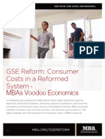 MBA's Mortgage Reform Voodoo Economics