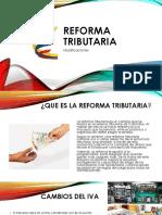 Modificaciones de la Reforma Tributaria Colombiana 2016