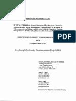 Universities Canada Objection - Access Copyright Post-Secondary Educatio....pdf