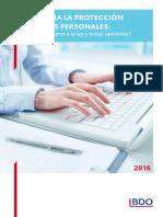 Guia Para La Proteccion de Datos Personales BDO