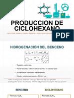 Produccion de Ciclohexano