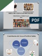 Presentación Currículo Cc Ss 2016