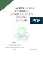 Reporte Anual Enerigas Renovables