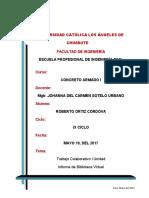 Trabajo Colaborativo - I Unidad_Concreto Armado I_Roberto Ortiz Cordova