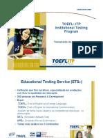 Apostila Aplicador TOEFL Itp