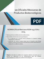 Normas Oficiales Mexicanas de.pptx