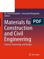 Materials for Construction and Civil Engineering Science, Processing, And Design 2015th Edition {PRG}