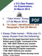Hist212_midterm Guidelines_ Essay _ Exam