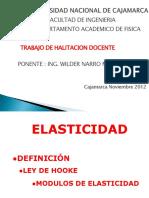 Elasticidad Wilder 2012