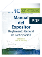 Manual Expositor FIC 2016