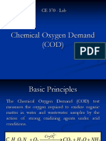 Lab 8 - Chemical Oxygen Demand (COD)