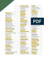 job skills checklist