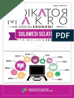 Indikator Makro Sosial Ekonomi Sulawesi Selatan Triwulan 1 2017