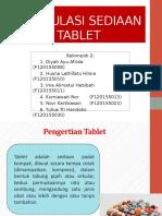 Formulasi Sediaan Tablet Fix