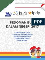 Panduan BUDI Dalam Negeri 2017