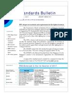 Standard Bulletin 1st Quarter 2017