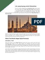 Wisata Turki Murah Yang Sayang Untuk Dilewatkan