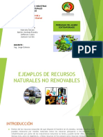 Ejemplos de Recursos No Renovables