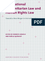 International Humanitarian Law and Human Rights