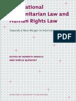International Humanitarian Law and Human Rights