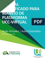 Manual Simplificado Manejo Plataforma UCC VIRTUAL
