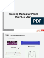 TCL CCFL & LED LCD Panel Training Manual