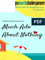 CYS presents Much Ado About Nothing