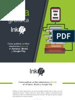 Guía Publicar libro electrónico (ebook) en Amazon, Apple y Google