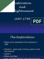 Restoration Enlightenment Satire