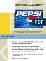 Supply Chain Management-pepsi
